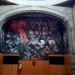 Theater / dome murals