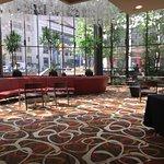 Lobby of DoubleTree Hotel
