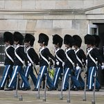 Christiansborg Palace - The Royal Guards