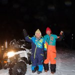 ATV tour with Vigard from Honningsvag on Nov 15th 2017