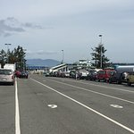 Pay attention to your lane--from Anacortes there are several destinations.