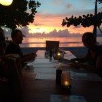 sunset at Laut Biru Selong Belanak