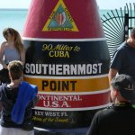 A stop to see the most southernmost point
