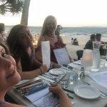 Stunning beachfront restaurant, calamari amazing!