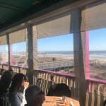 Can dine on our outside ocean view deck in all weather and temperatures.