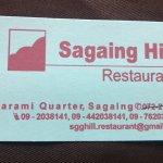 Photo of Sagaing Hill Restaurant