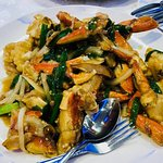 Ginger and Green Onion Crab
