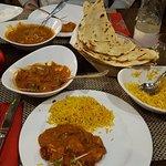 butter chicken and chicken tikka masala