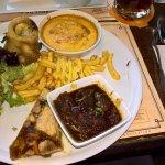 assiette gourmande 3 Brasseurs : incontournable !