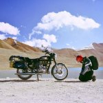 Darjeeling Rider at Gurudongmar Lake