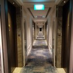 Same floor with other side of hallway with newly renovated rooms