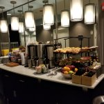 Breakfast area on 6th floor. All floors have this amenity.