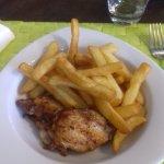 poulet frite