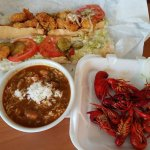 Po Boy, Gumbo and Crawfish