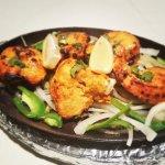 Chicken Tikka and Tandoori Grilled Vegetables are best at Dawat.