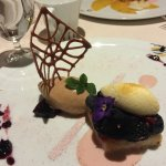 Dessert at the Picasso Restaurant at the Bellagio Hotel
