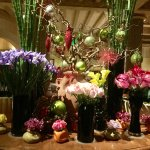 Floral Arrangement at the Picasso Restaurant at the Bellagio Hotel