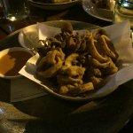Pretzel-Crusted Calamari
