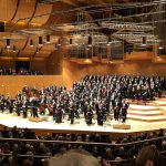 Orchestra, choir, and soloists for Beethoven 9