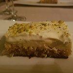 Dessert met engelenhaar