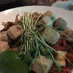 Tofu asian dish