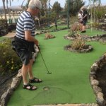 Mini Golf in Caleta