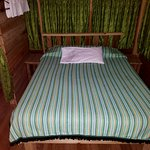 Bed in casita. Some rooms had twin beds.