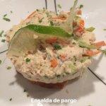 Ensalada de Pargo. Exelente!!
