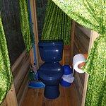 Toilet in casita