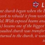 Bild från St. Vincent's Church