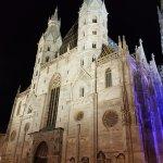 St Stephan at night