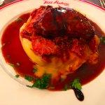 Pork with foie gras