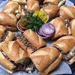 Cheese Steak Tray