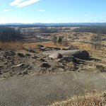 From Little Round Top looking to Devil's Den