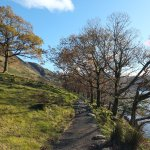 The path around Buttermere... (a 2 hour circular walk)