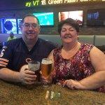 Drinks with my sister.  Wonderful bartender!