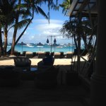 View from the bar/restaurante of your beach front