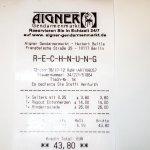 Aigner-Rechnung