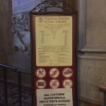 Mass schedule at Basilica of St. Anthony