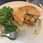 Best scallop pie I've had in Hobart.