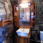 Washbasn and WC.