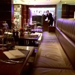 The Grill restaurant: relaxed lighting and decor