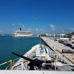 Key West Harbor from the gun deck