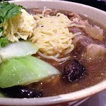 Oxtail soup with ramen noodles