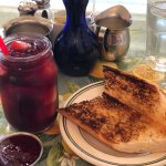 Sangria punch and toast