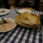 Taramasalata and pitta bread