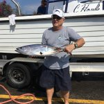 One of 3 skipjack tunas caught that day