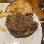 Actual burger