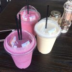 Cool off with one of our smoothies.