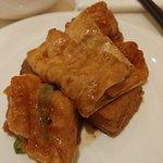 Deep-fried beancurd skin